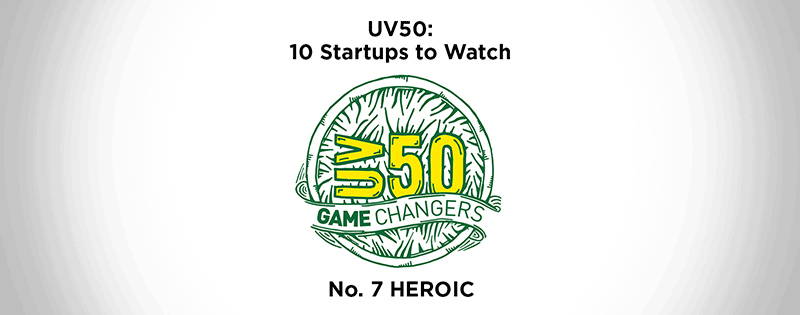 HEROIC Named Top 10 Startups to Watch
